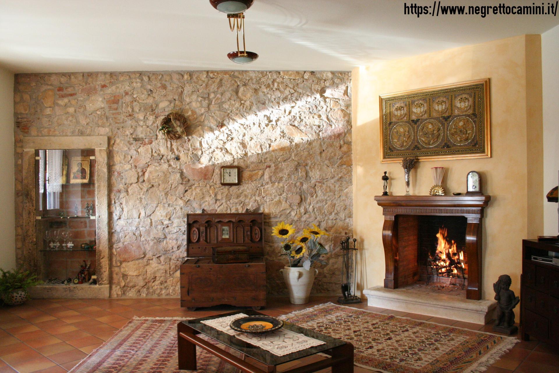 Beautiful Pareti In Pietra Per Soggiorno Gallery - Design and ...